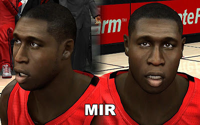 NBA 2K13 Mickael Pietrus Cyberface Patch