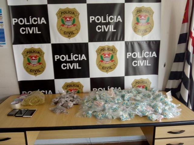 Polícia Civil localiza casa utilizada como depósito de drogas em Registro-SP e prende o responsável