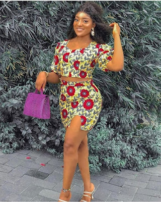 Short Ankara Fashion Styles Pictures