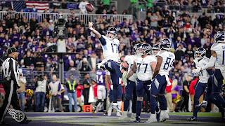 FÚTBOL AMERICANO (NFL Playoffs 2020) - Golpe en la mesa de los Titans derribando a los mejores Ravens