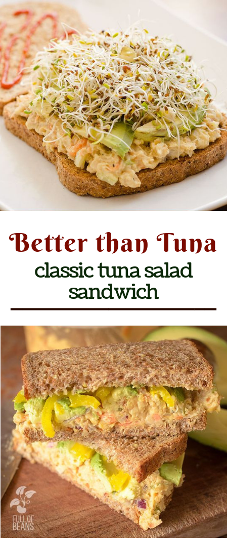 Better than Tuna #Portableandeasymeals #vegies #healthyrecipes