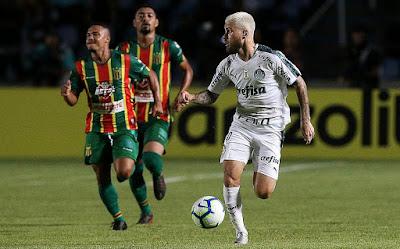 Copa do Brasil:  Palmeiras vence o Sampaio Corrêa, no Maranhão