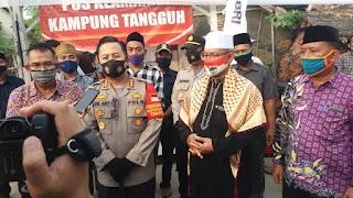 Kapolresta Tangerang Puji Kesiapan Ketahanan Pangan di KTN Desa Kedung Gunung Kaler
