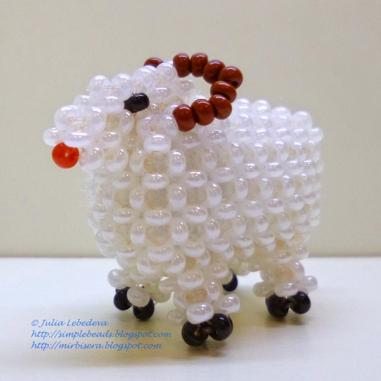 схема плетения бисером брелков ягодки