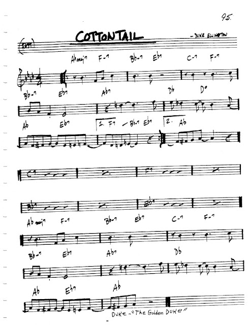 Partitura Flauta Duke Ellington