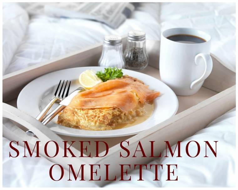 Smoked Salmon Omelette: Posh Breakfast Or Brunch