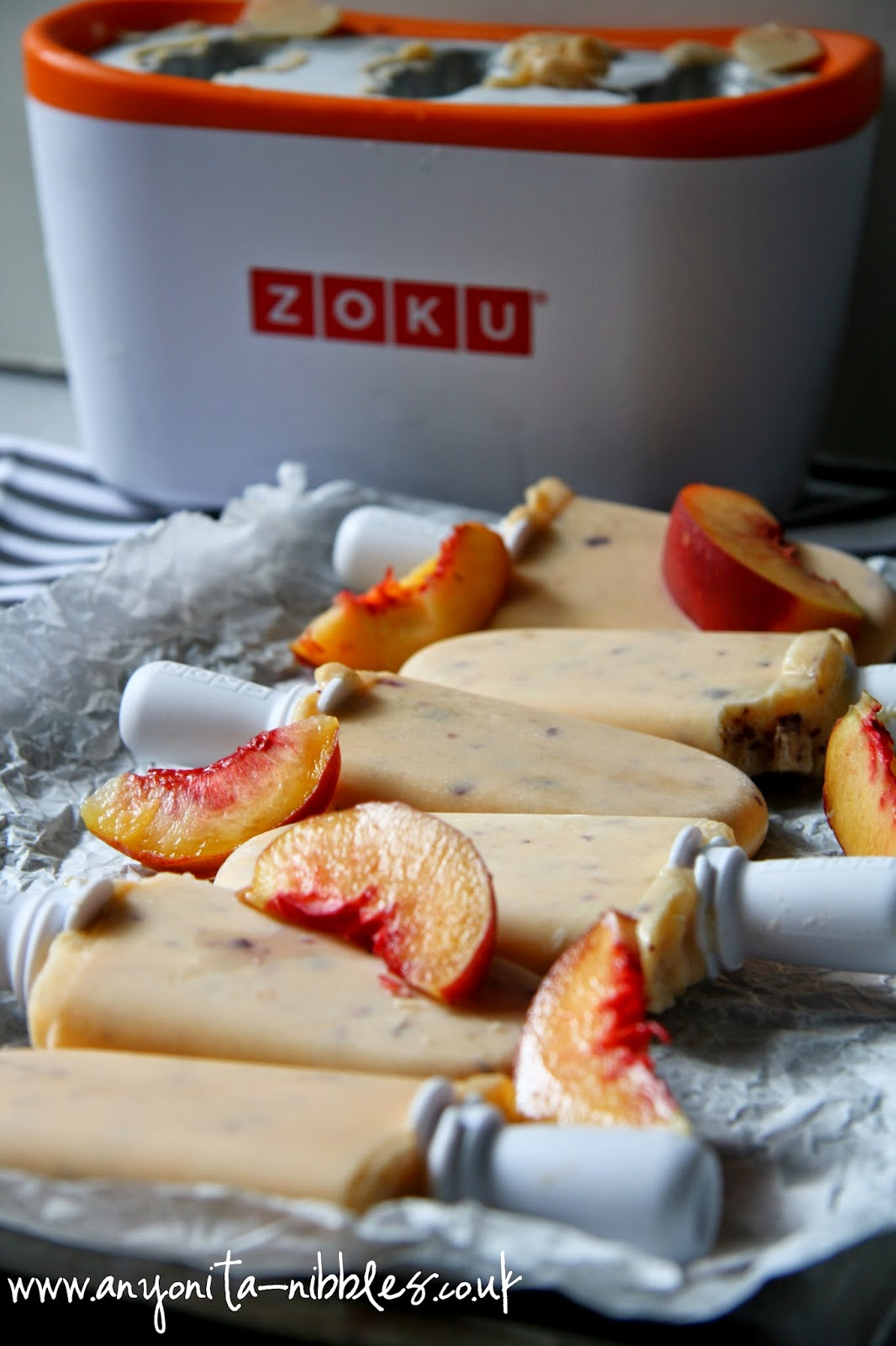 #zoku made #glutenfree #noaddedsugar ice pops from www.anyonita-nibbles.co.uk