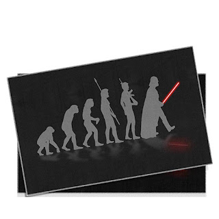 Jogo Americano Star Wars Evolução