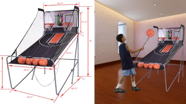 GYMAX Electronic Basketball Game