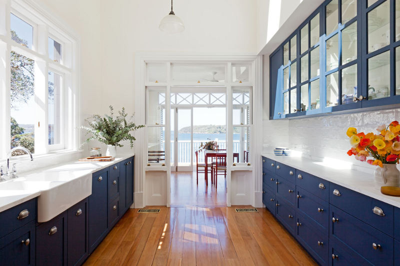 Blue and white kitchen ideas