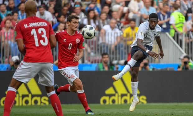 France vs. Denmark scoreless draw