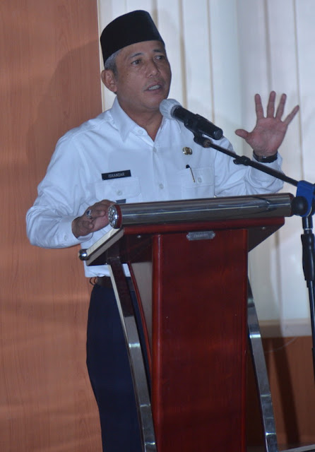 H Iskandar Beri Solusi Untuk Mengurai Masalah Prona