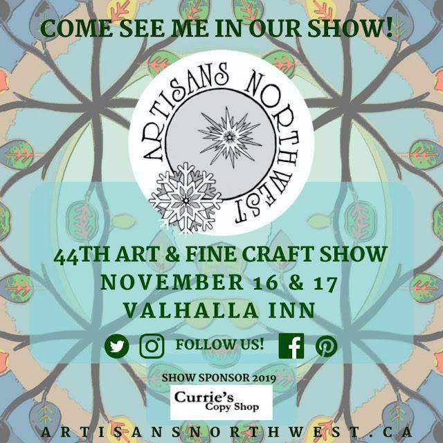 artisans northwest 2019 show flyer