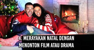Anak rantau Merayakan Natal dengan Menonton Film Atau Drama