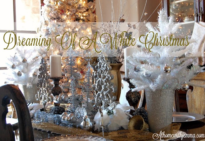 I'm Dreaming Of A White Christmas Home Tour
