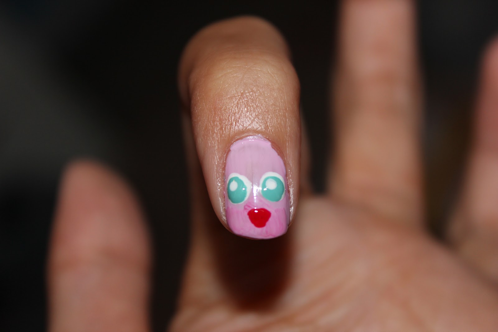 Old to Bold: 11. Jigglypuff Nail Art