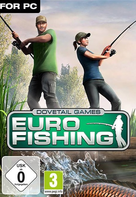 Euro Fishing PC Full Cover Caratula