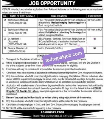 Pakistan nuclear energy Jobs 2021