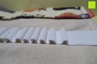 Schlaufen: Damero Rollentasche für Gelstift Schreibzubehör gerollter Halter mit Leiwand für Buntstift Reiseorganisator-Beutel für Künstler, Mehrzweck (keine Bleistifte im Lieferumfang enthalten), 48 Löcher, Katzen