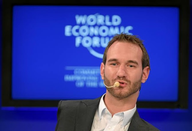 Nick Vujicic: Unique example of mental courage and strength!