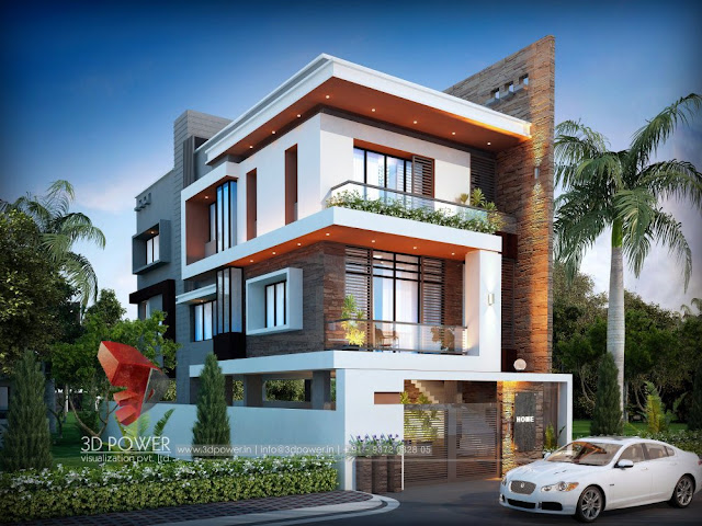 Best Villa Elevation with 3D Rendering For Your Home.