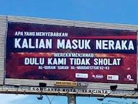 Salut! 4 Billboard Di Kaltim ini Dijadikan Media Dakwah Hingga Banjir Pujian Dari Netizen