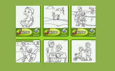 Aprendo Jugando En Educación Infantil Dibujos De La Familia Para