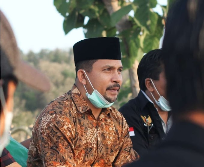 Buah Tangan Bupati Dompu Untuk Bukit Sultan, Doro Mpana