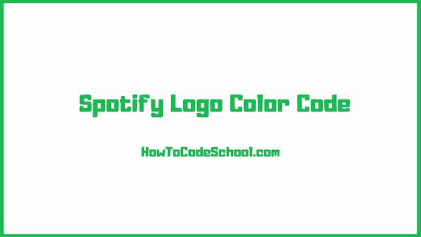 Spotify Logo Color Code