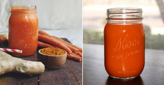 This Ginger-Turmeric-Carrot Juice Can Replace Your Pain and Inflammation Medication Forever