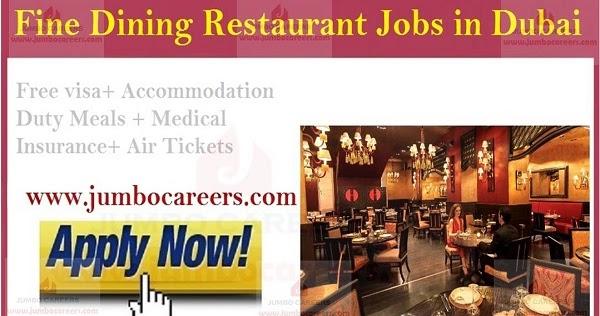 Fine Dining Restaurant Jobs in Dubai at Mohamed Hilal Group UAE