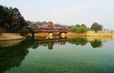 ทะเลสาบหงเฟิง (Hongfeng Lake) @ www.easytourchina.com