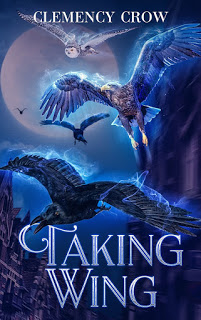 best middle grade book, blog tour middle grade, clemency crow, enchanted  book promotions, middle grade adventure, taking wing, taking wing book, inspiring interview,