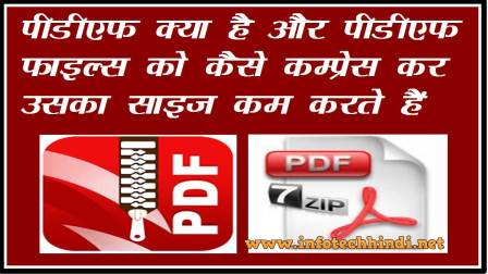 What is PDF and How to Compress PDF files in Hindi