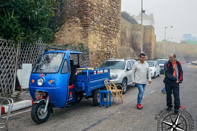 Los triciclos marroquies