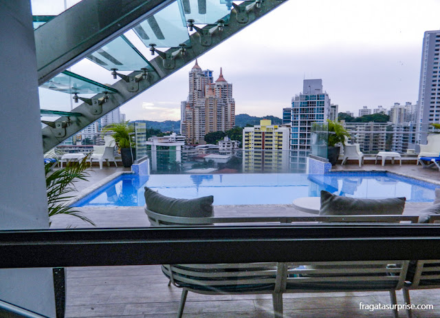 Terraço do Best Western Plus Panama Zen Hotel, Cidade do Panamá