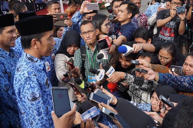 Presiden: Letusan Gunung Agung Bisa Jadi Atraksi Wisata Tambahan