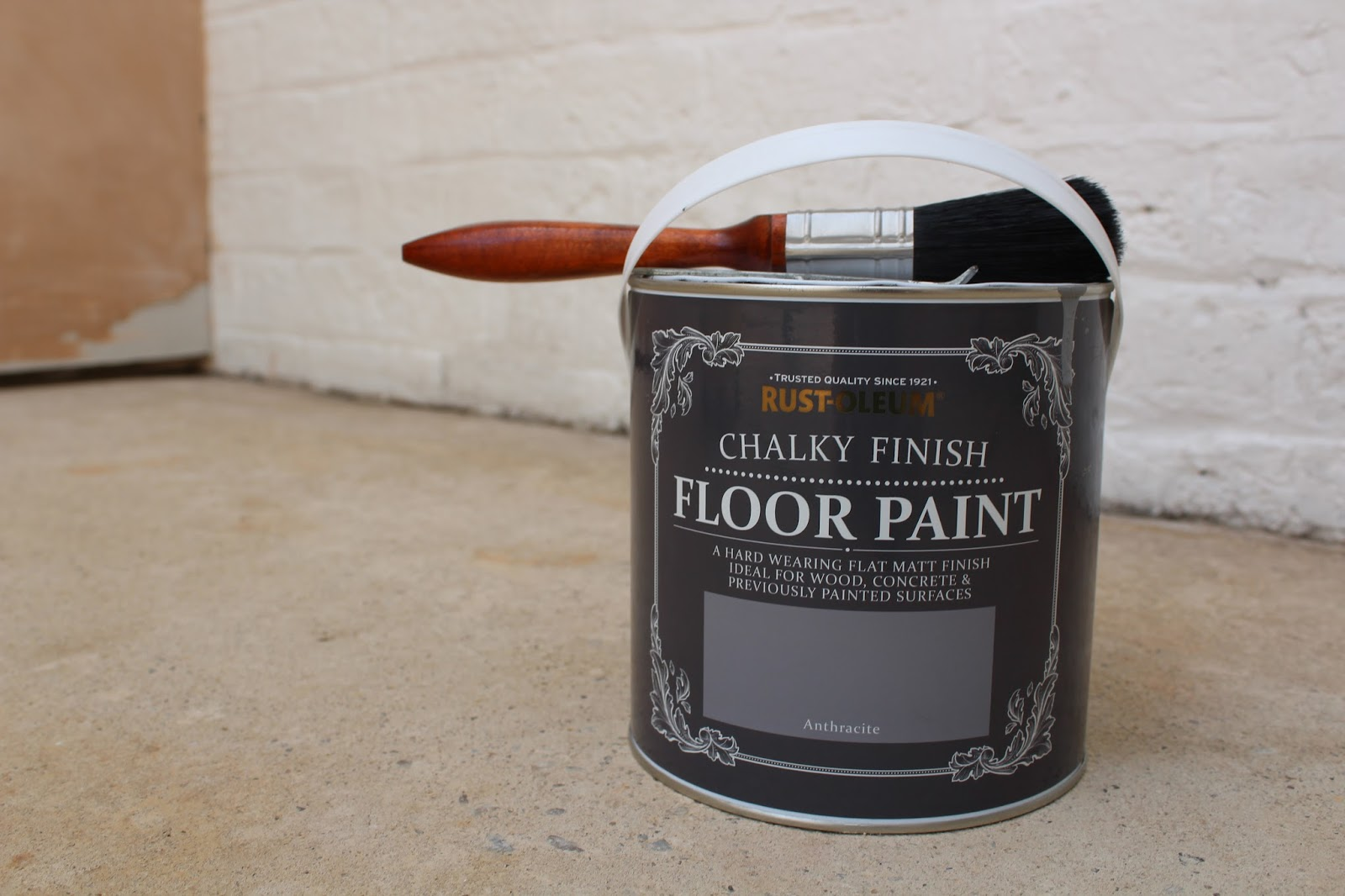rustoleum floor paint on concrete
