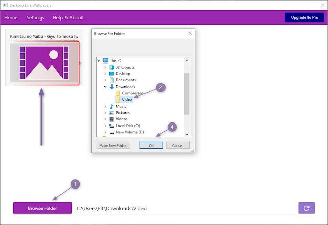 Cara Menjadikan Video sebagai Wallpaper Bergerak di PC Windwos 10