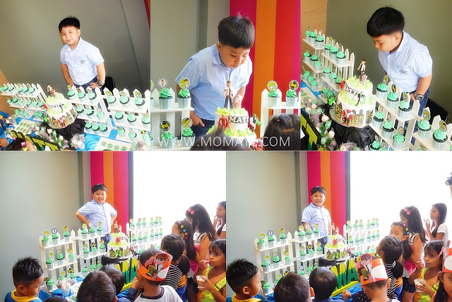 7th Birthday, McDonald's, McCelebration, cake buffet, Ben10
