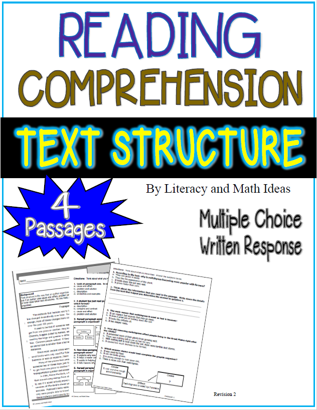 relationship of reading comprehension on mathematics This article shares approaches to reading comprehension and math for reading comprehension these question-and-answer relationships that are common.