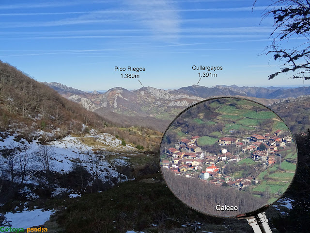 Caleo en el concejo asturiano de Caso.