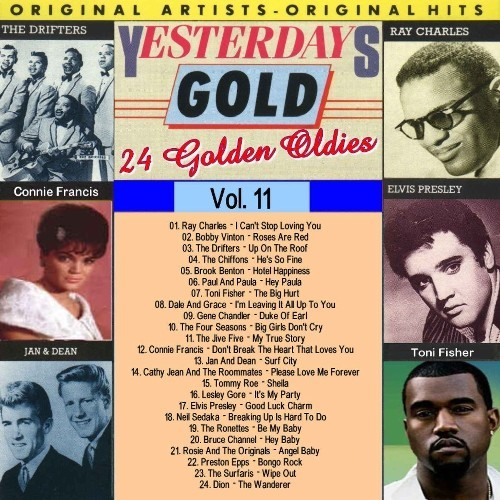 Yesterday's Gold (vol 11 20of 25) (1988)  60's70's Rock
