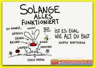 Geburtstagswünsche von Kollegen