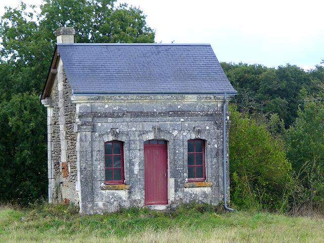 Vine hut, Indre et Loire, France. Photographed by Loire Valley Time Travel.