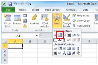 إنشاء نماذج VBA / عناصر تحكم GUI في برنامج Microsoft Excel