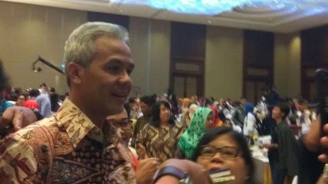 Elektabilitas Jokowi-Ma'ruf Turun, Ganjar: Naikkan Lagi Kok Repot