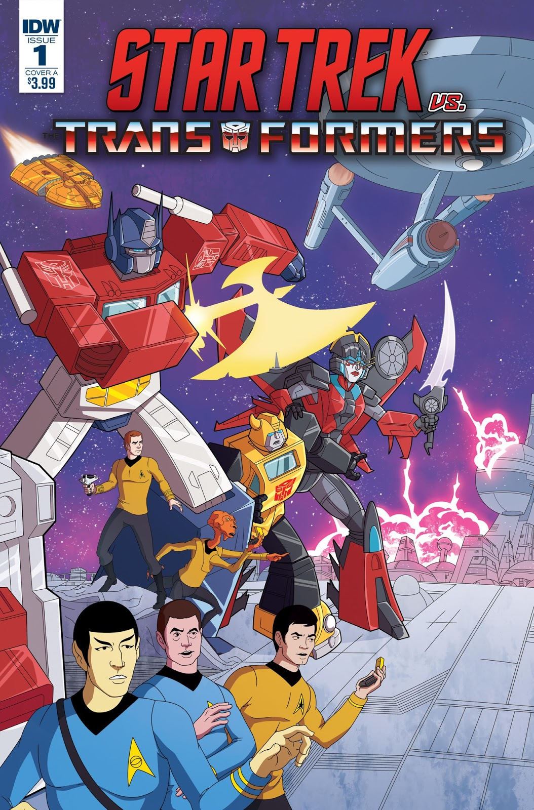 Star Trek vs. Transformers