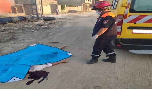 العثور على جثة شخص ملقاة بالطريق ببوقادير