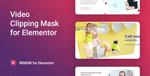 Videor v1.0.2 – Video Clipping Mask for Elementor